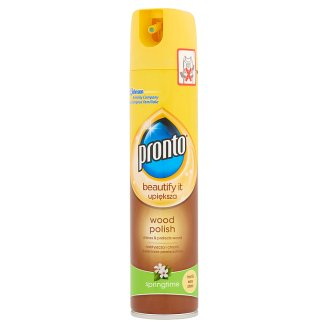 Pronto Wood Springtime Furniture Polish 250 ml
