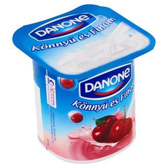 Danone Könnyű és Finom Sour Cherry Flavoured Low-Fat Yoghurt with Live Cultures 125 g