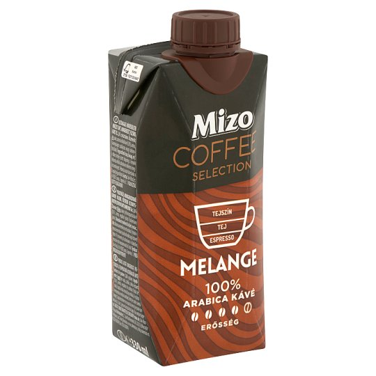 Mizo Coffee Selection Melange UHT félzsíros kávés tej 330 ml