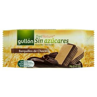 Gullón DietNature Diabetic Cocoa Flavoured Filled Wafer with Sweetener 70 g