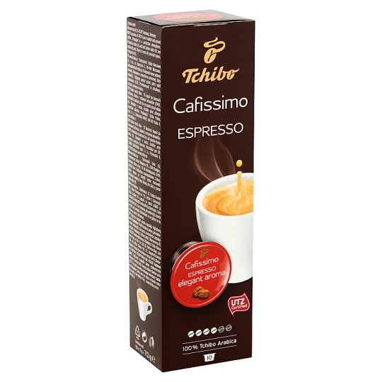 Tchibo Caffissimo Espresso Elegant Aroma kávékapszula 10 db 70 g