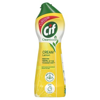 Cif Lemon Scouring Cream with Micro Crystals 250 ml