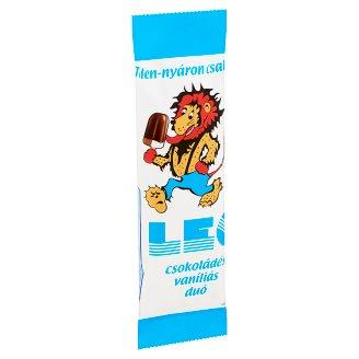 Leo csokoládés vaníliás duó jégkrém 73 ml