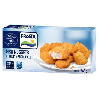 FRoSTA Prebaked Quick-Frozen Small African Cod Fish Bites in Crunchy Breadcrumbs 240 g