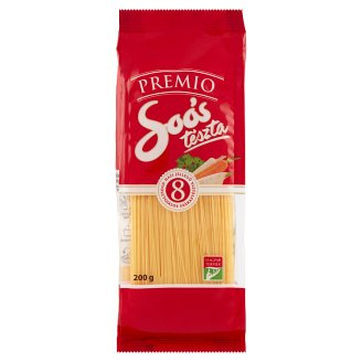 Soós Premio Homestyle Laid Vermicelli Dried Pasta with 8 Eggs 200 g