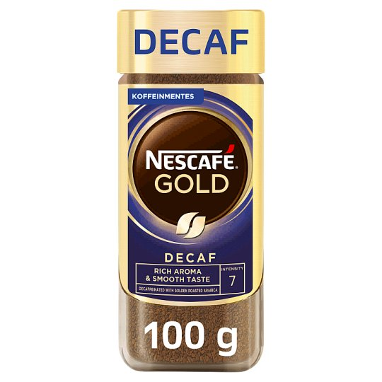 Nescafé Gold Decaf Caffeine-Free Instant Coffee 100 g