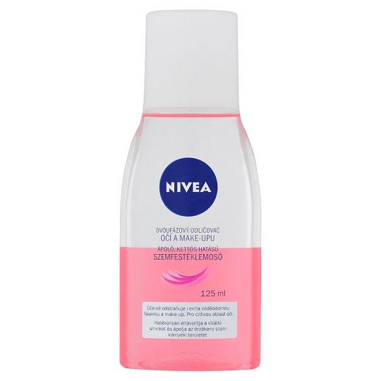 NIVEA ápoló, kettős hatású szemfestéklemosó 125 ml
