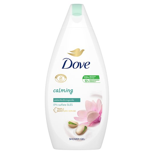 Dove Purely Pampering Nourishing Shower Gel with Pistachio Cream and Magnolia  500 ml
