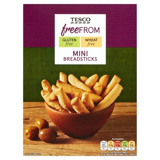 Tesco Free From kukoricakeményítővel készült gluténmentes rudacskák 2 x 62,5 g