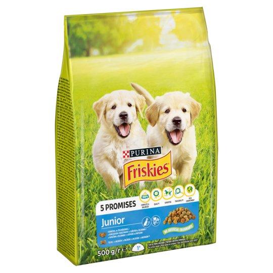 Friskies Junior állateledel kölyökkutyák számára 500 g