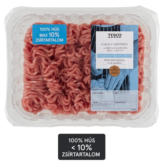 Tesco Minced Pork Leg with 10% Fat Content 0,500 kg