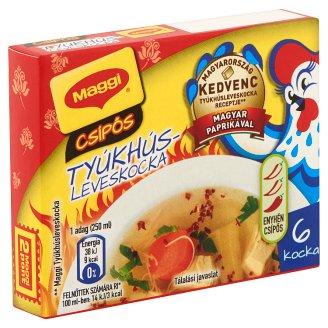 Maggi Hot Chicken Bouillon Cubes 100 g