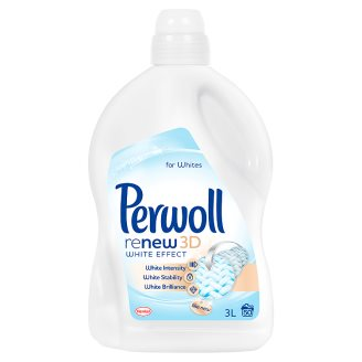 Perwoll ReNew 3D White Light Duty Detergent 50 Washes 3 l
