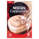 Nescafé Cappuccino Instant Coffee Specialty with Low-Fat Milk Powder 10 x 13 g