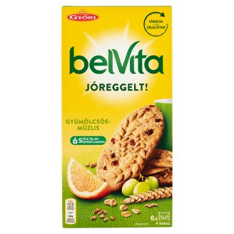 BelVita JóReggelt! Crispy Biscuits with Cereals and Fruit 300 g
