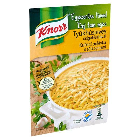 Knorr Egyszerűen finom! tyúkhúsleves csigatésztával 40 g