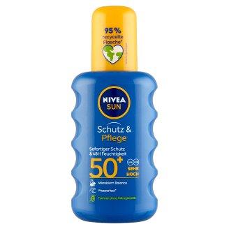NIVEA SUN Protect & Moisture napozó spray FF50+ 200 ml