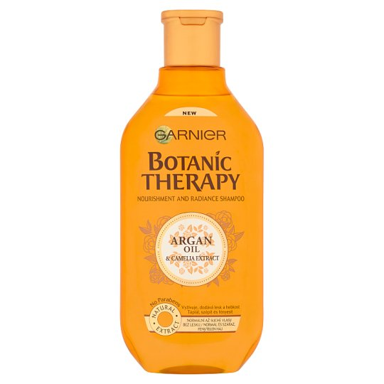 Garnier Botanic Therapy Argan Oil & Camelia Extract Shampoo for Normal, Dry and Pallid Hair 400 ml