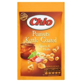 Chio Kettle Coated földimogyoró pikáns zöldfűszeres ízű ropogós tésztabundában 100 g