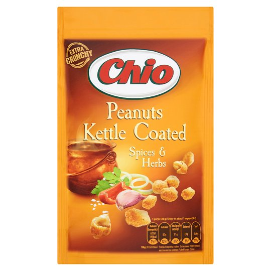 Chio Kettle Coated Peanuts with Spices & Herbs 100 g