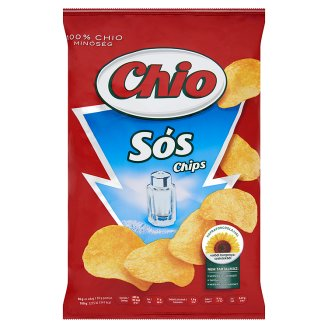 Chio Potato Chips with Salt and Natural Flavouring 75 g