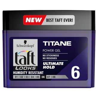 Taft Looks Hair Gel Titan Effect Extreme XXL 250 ml