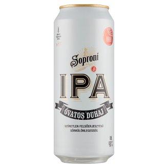 Soproni Óvatos Duhaj IPA Premium Lager Beer 4,8% 0,5 l Can