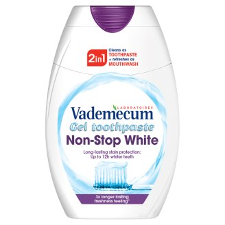 Vademecum Toothpaste 2in1 Non Stop White 75 ml