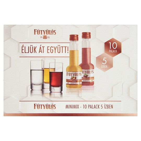 Fütyülős Mini Mix Liqueur 30% 10 x 0,04 l