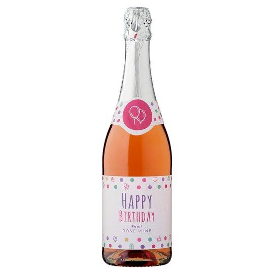 Happy Birthday Kunsági Pearl Rose Wine 10% 0,75 l