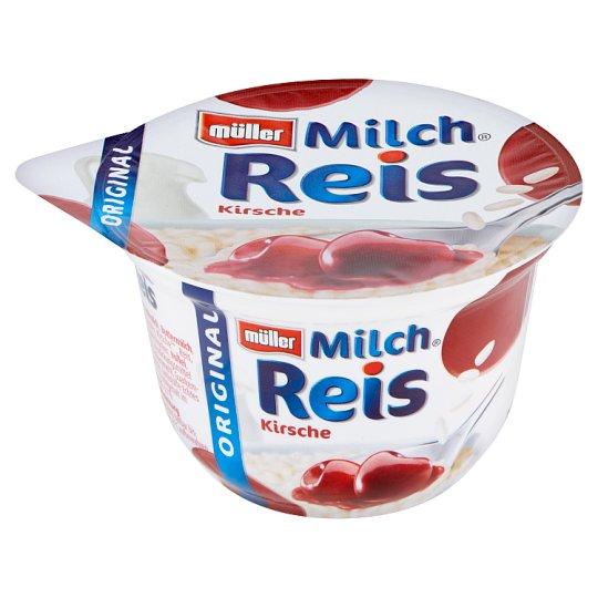 Müller Original Rice Pudding Dessert with Sour Cherry Sauce 200 g