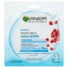 Garnier Skin Naturals Moisture + Aqua Bomb szuper hidratáló, feltöltő textil maszk 32 g