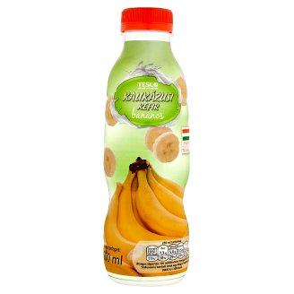 Tesco Kaukázusi Kefir Banana Flavoured Cultured Milk Product 500 ml