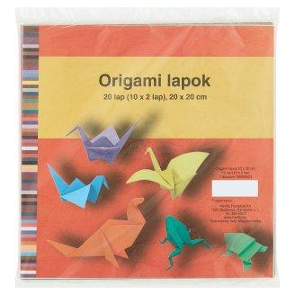 Herlitz origami lapok 20 x 20 cm 20 lap