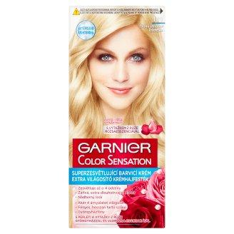 Garnier Color Sensation 111 Silver Blonde Extra Lightening Cream Hair Colorant