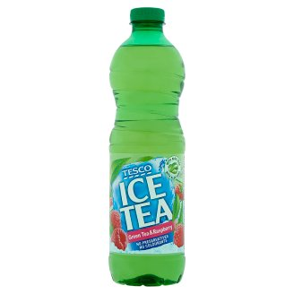 Tesco Green Tea & Raspberry Ice Tea 1,5 l