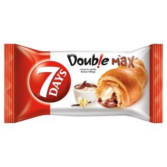7DAYS Doub!e Max croissant kakaós és vanília ízű töltelékkel 80 g