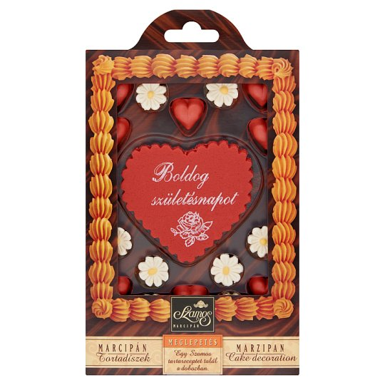 Szamos Marzipan Cake Decoration 30 g
