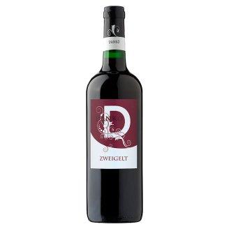 Dankó Dunántúli Zweigelt félszáraz vörösbor 11,5% 750 ml