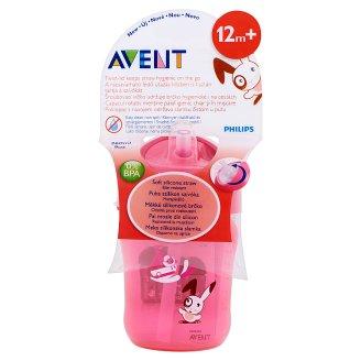 Philips Avent 260 ml-es szívószálas itatópohár 12 hónapos kortól