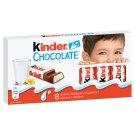 Kinder tejcsokoládé szelet tejes krémmel töltve 8 db 100 g