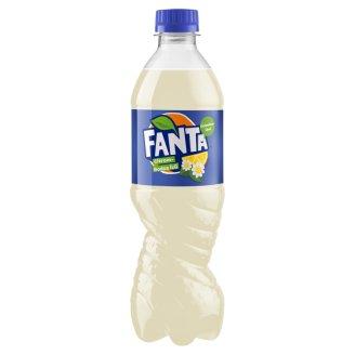 Fanta Lemon-Elderflower Flavoured Carbonated Drink 500 ml