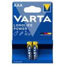 Varta Longlife Power AAA Alkaline Micro Batteries 2 pcs