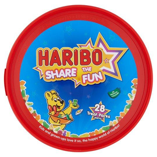 Haribo Share The Fun gyümölcs- és kólaízű gumicukorka 700 g