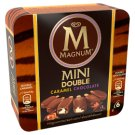 Magnum Mini Multipack Double Caramel and Double Chocolate Vanilla and Chocolate Ice Cream 6 x 60 ml