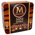 Magnum Mini Double Caramel and Double Chocolate Vanilla and Chocolate Ice Cream 6 x 360 ml