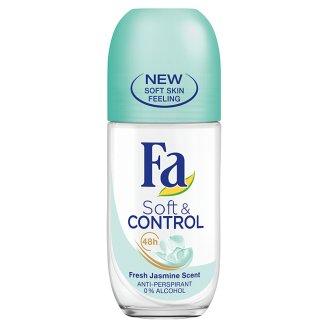 Fa Soft & Control Fresh Jasmine Scent Antiperspirant Roll-On Deodorant 50 ml