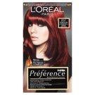 L'Oréal Paris Préférence P37 intenzív sötétvörös prémium ultra-ellenálló hajfesték
