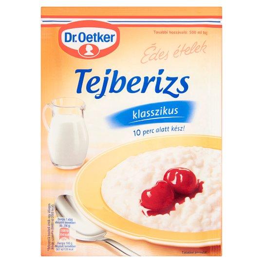 Dr. Oetker Édes Ételek klasszikus tejberizs alappor 125 g