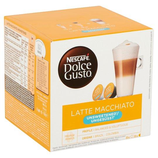 Nescafé Dolce Gusto Latte Macchiato Unsweetened Roast & Ground Coffee & Milk Powder 2 x 8 pcs 168 g